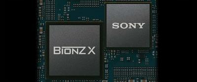 Imagine prezentând motorul de procesare a imaginilor BIONZ X