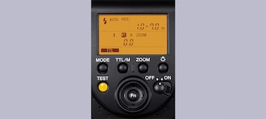 Imagine cu Bliţ extern F43M pentru suport cu interfaţă multiplă