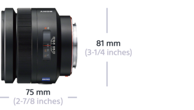 Imagine cu Planar T* 85 mm F1,4 ZA