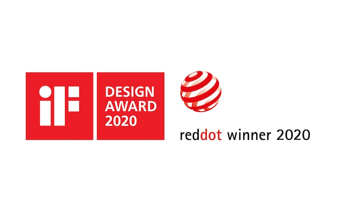 Sigle pentru iF Design Award 2020 și Red Dot Winner 2020