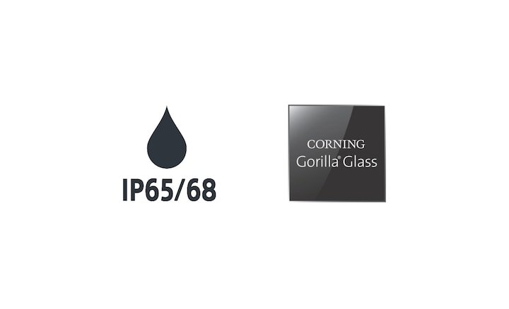 Sigle IP65/68 și Corning® Gorilla® Glass 6