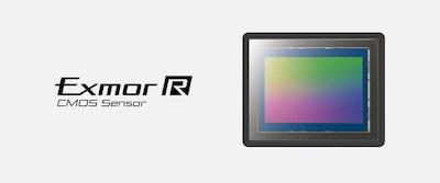 Imagine prezentând senzorul de imagine Exmor R CMOS