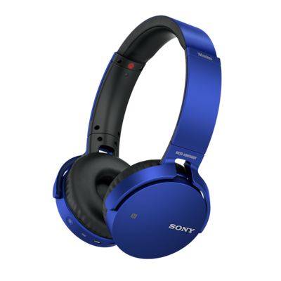 Imagine cu Căști wireless EXTRA BASS™ MDR-XB650BT