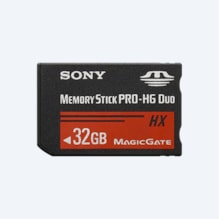 Imagine cu Card de memorie Memory Stick PRO Duo™