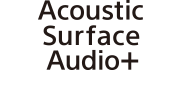 Siglă Acoustic Surface Audio+