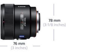 Imagine cu Distagon T* F2 ZA SSM de 24 mm