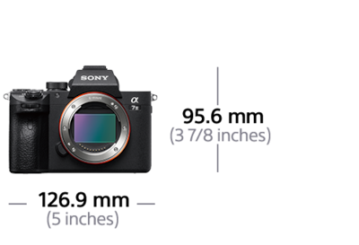 Imagine cu α7 III cu senzor de imagine Full Frame de 35 mm