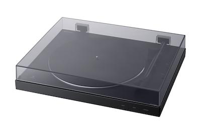 Gramofonul BLUETOOTH PS-LX310BT cu capacul împotriva prafului închis