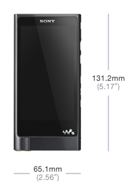 Imagine cu Walkman® ZX2 din seria ZX