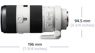 Imagine cu G SSM II F4-5,6 de 70-400 mm