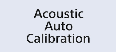 Siglă Acoustic Auto Calibration