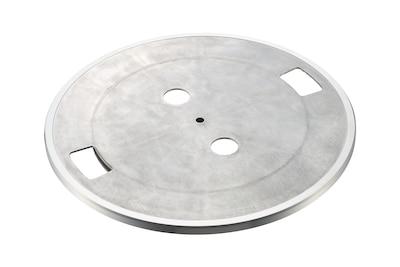Prim-plan cu placa de aluminiu pentru redare clară și stabilă