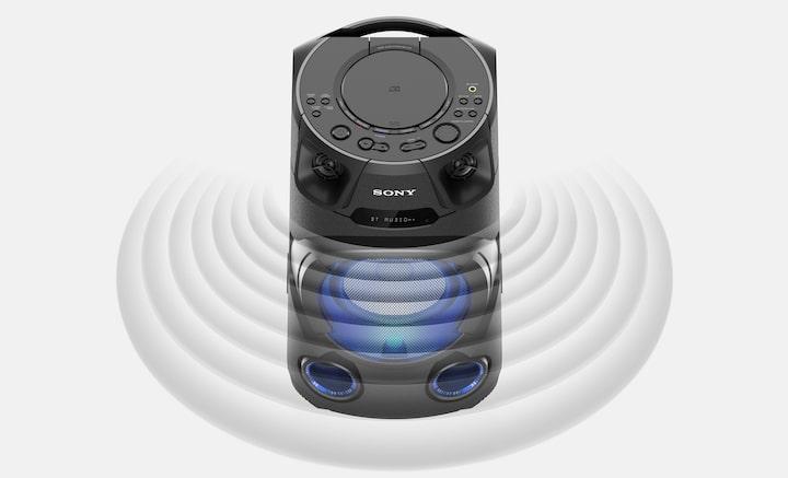 Sistem audio High Power, SONY MHC-V13