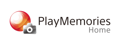 Pagina de start PlayMemories